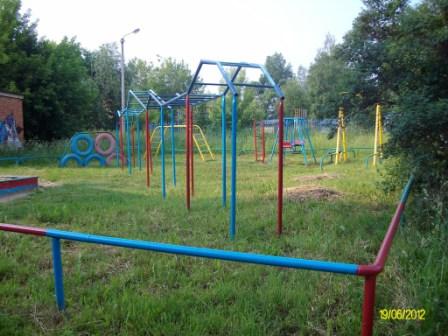 Н.Поселок 7 Детская площадка